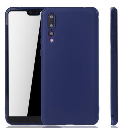 Huawei P20 Pro Handyhülle Schutzcase Backcover Tasche Hülle Case Bumper Blau