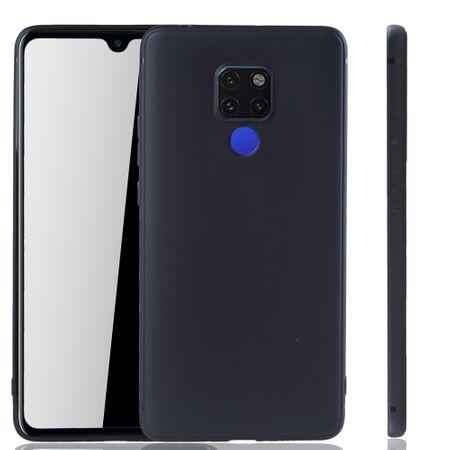 Huawei Mate 20 X Handyhülle Schutzcase Backcover Tasche Hülle Case Etuis Schwarz