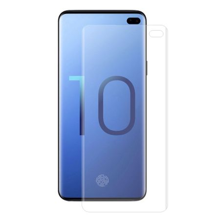 Panzer Folie 3D für Samsung Galaxy S10 Plus Display Schutz Folie Full Cover KLAR