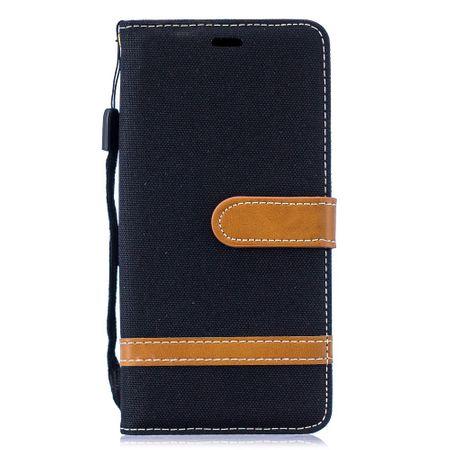 Samsung Galaxy S10 Handy-Hülle Schutz-Tasche Case Cover Kartenfach Etuis Schwarz – Bild 2