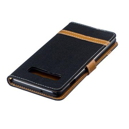 Samsung Galaxy S10 Handy-Hülle Schutz-Tasche Case Cover Kartenfach Etuis Schwarz – Bild 7