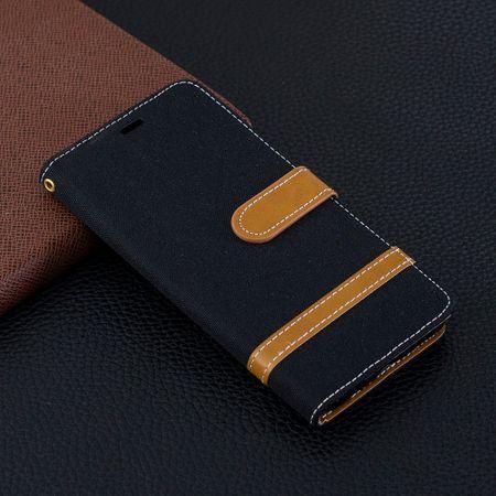 Samsung Galaxy S10 Handy-Hülle Schutz-Tasche Case Cover Kartenfach Etuis Schwarz – Bild 9