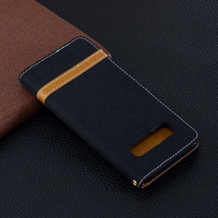 Samsung Galaxy S10 Handy-Hülle Schutz-Tasche Case Cover Kartenfach Etuis Schwarz – Bild 10