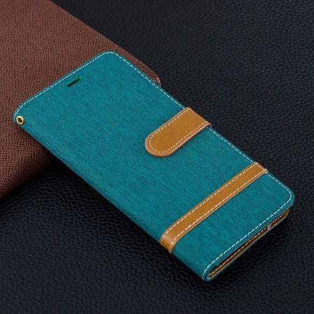 Samsung Galaxy S10 Plus Handy-Hülle Schutz-Tasche Case Cover Kartenfach Etui Wallet Grün – Bild 9