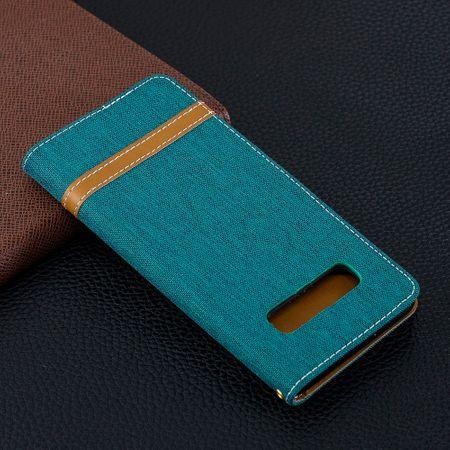 Samsung Galaxy S10 Plus Handy-Hülle Schutz-Tasche Case Cover Kartenfach Etui Wallet Grün – Bild 10