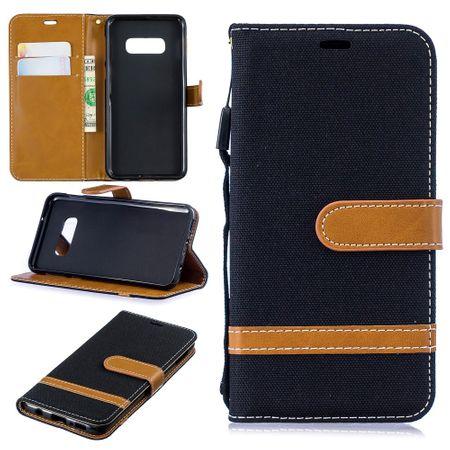 Samsung Galaxy S10e Handy-Hülle Schutz-Tasche Case Cover Kartenfach Etuis Schwarz