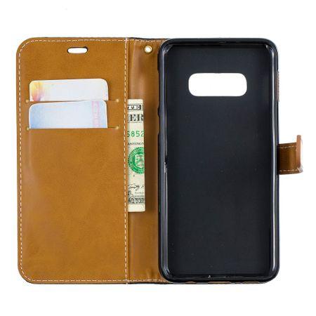 Samsung Galaxy S10e Handy-Hülle Schutz-Tasche Case Cover Kartenfach Etuis Schwarz – Bild 8
