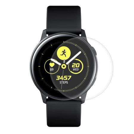 Samsung Galaxy Watch Active Panzer Schutz Display Glas Panzerfolie 9H Echtglas - 1 Stück