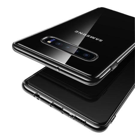 Samsung Galaxy S10 Handyhülle Case Hülle Silikon Transparent – Bild 4