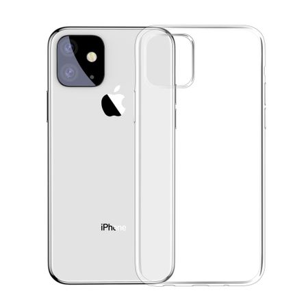 Apple iPhone 11 Pro Handyhülle Case Hülle Silikon Transparent