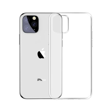Apple iPhone 11 Handyhülle Case Hülle Silikon Transparent