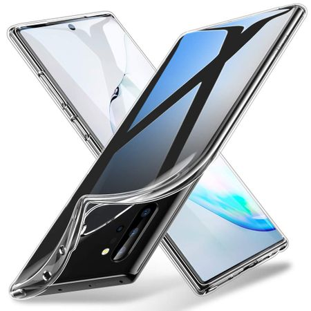 Samsung Galaxy Note 10 Plus Handyhülle Case Hülle Silikon Transparent