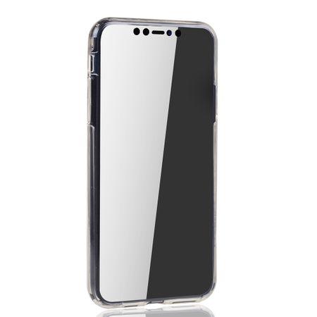 Apple iPhone 11 Hülle Case 360 Handy Schutz Tasche Cover Full TPU Etui Transparent – Bild 3