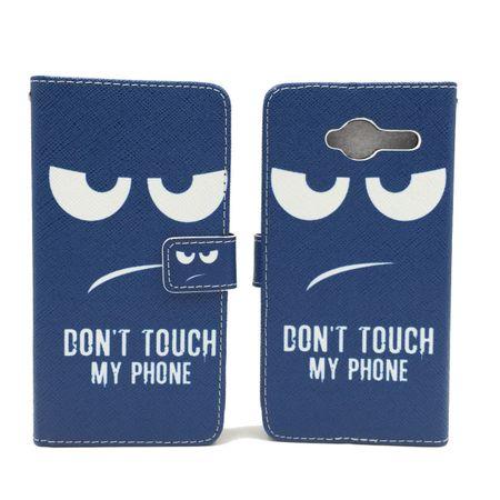 Handyhülle Tasche für Handy ZTE Blade L3  Dont Touch my Phone