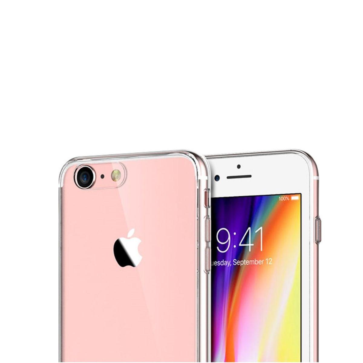 AppleIphone8TransparentCaseHulleSilikon