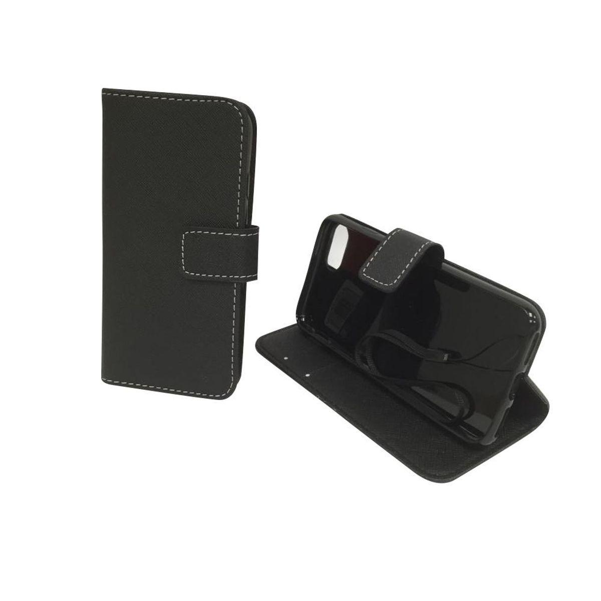 Handyhülle Tasche für Handy Apple iPhone 8 Schwarz