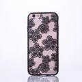 Handy Hülle Mandala für Apple iPhone 8 Design Case Schutzhülle Motiv Blüten Cover Tasche Bumper Schwarz 001