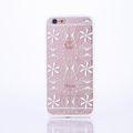 Handy Hülle Mandala für Apple iPhone 8 Design Case Schutzhülle Motiv Ornamente Cover Tasche Bumper Weiß 001