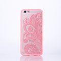 Handy Hülle Mandala für Apple iPhone 8 Design Case Schutzhülle Motiv Blüte Cover Tasche Bumper Rosa 001