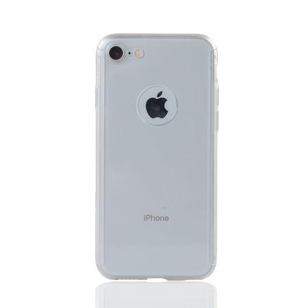 Apple iPhone 8 Handy-Hülle Schutz-Case Cover Panzer Schutz Glas Transparent Matt – Bild 2