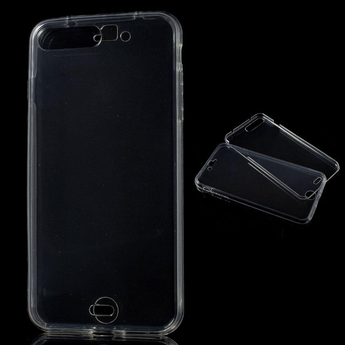 Crystal Case Hülle für Apple iPhone 8 Plus Transparent Full Body