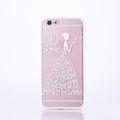 Handy Hülle Mandala für Apple iPhone 8 Plus Design Case Schutzhülle Motiv Schmetterling Frau Cover Tasche Bumper Weiß 001