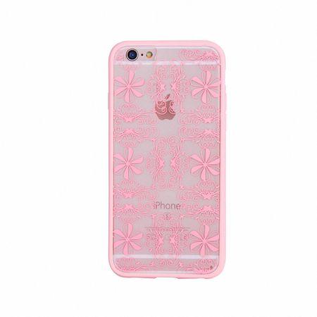 Handy Hülle Mandala für Apple iPhone 8 Plus Design Case Schutzhülle Motiv Ornamente Cover Tasche Bumper Rosa