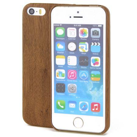 Apple iPhone 8 Plus TPU Handy Hülle Holz Optik Schutz Case Eiche Cover