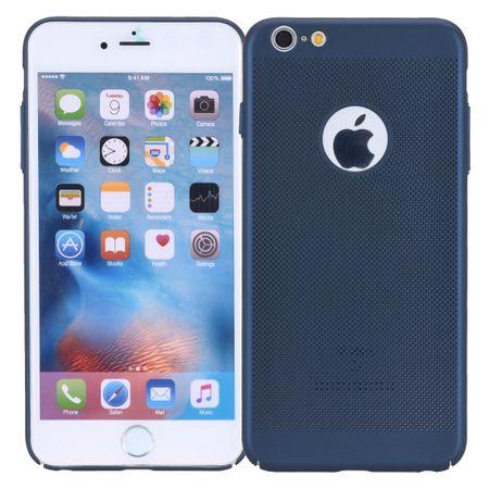 Handy Hülle für Apple iPhone 8 Plus Schutzhülle Case Tasche Cover Etui Blau