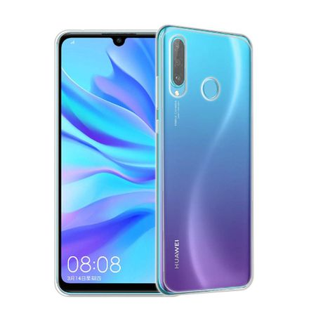 Huawei P30 lite New Edition Handyhülle Case Hülle Silikon Transparent