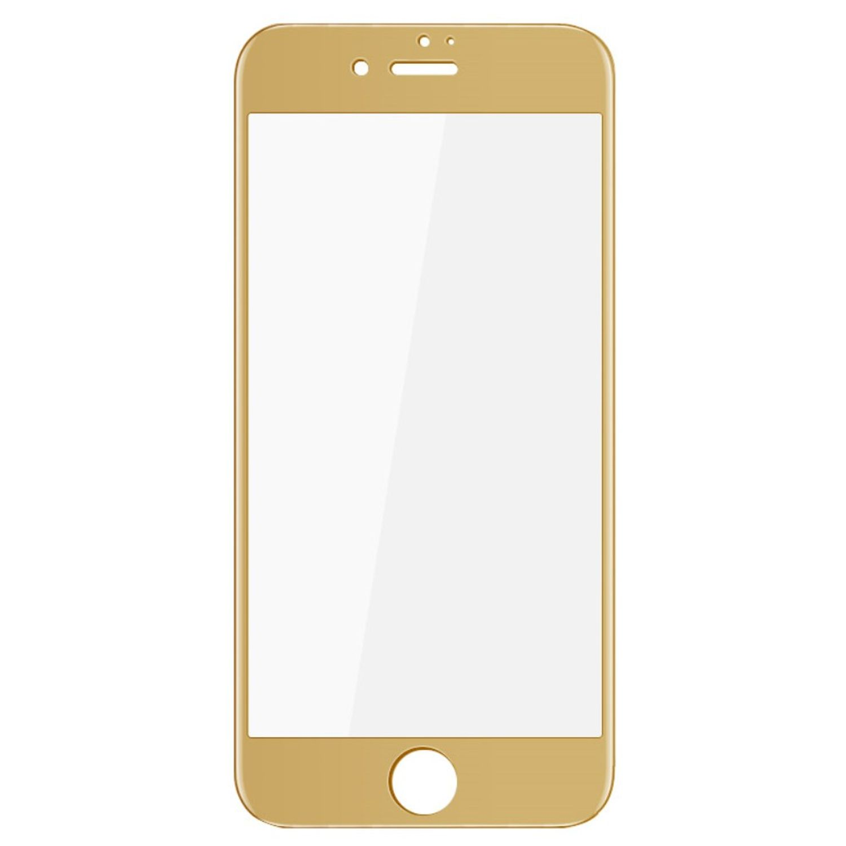 Apple iPhone SE 2020 3D Panzer Glas Folie Display Schutzfolie Hüllen Case Gold