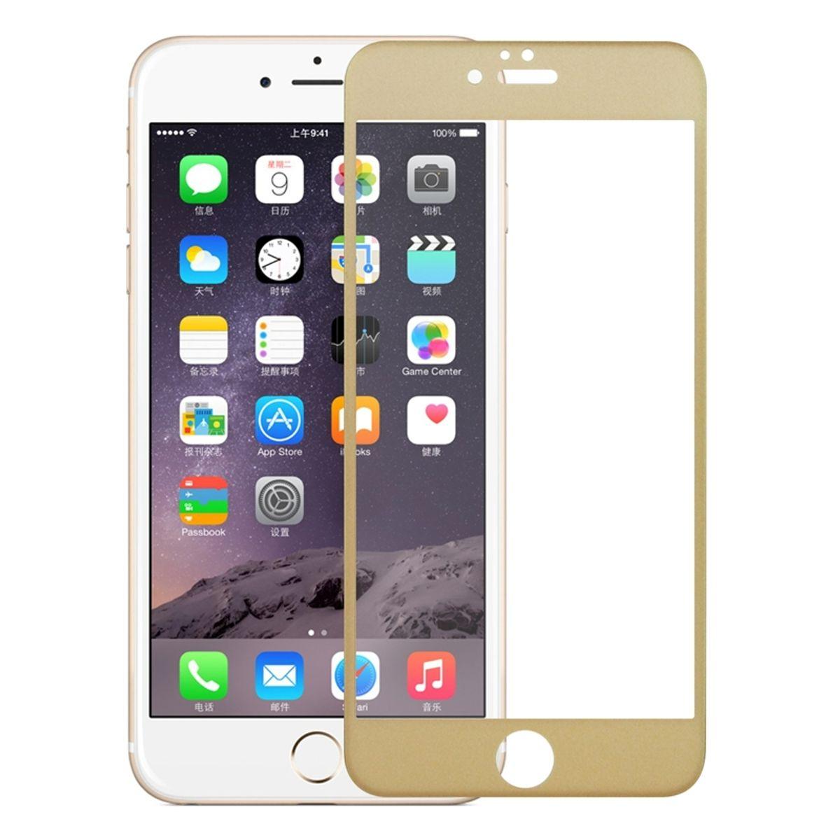Apple iPhone SE 2020 3D Panzer Glas Folie Display 9H Schutzfolie Hüllen Case Gold