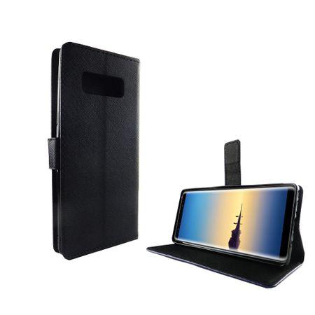 Handyhülle Tasche für Handy Samsung Galaxy Note 8 Schwarz