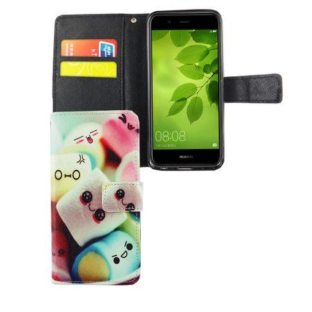 Handyhülle Tasche für Handy Huawei Nova 2 Schriftzug Marshmallows – Bild 4