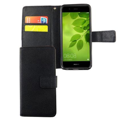 Handyhülle Tasche für Handy Huawei Nova 2 Plus Schwarz – Bild 1