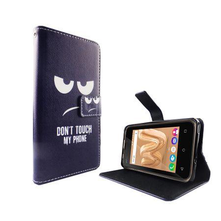 Handyhülle Tasche für Handy Wiko Lenny 3 Max Dont Touch my Phone