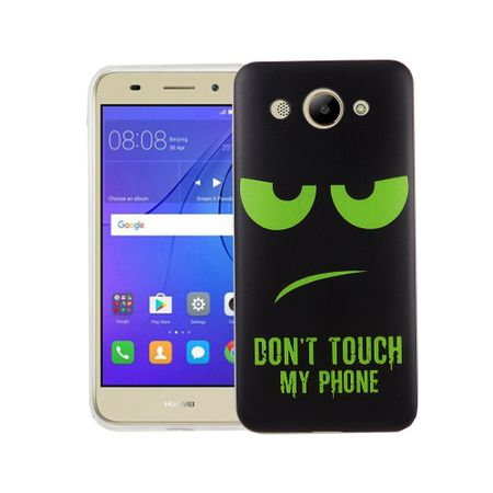 Dont Touch My Phone Handyhülle Huawei Y3 2017 Silikon