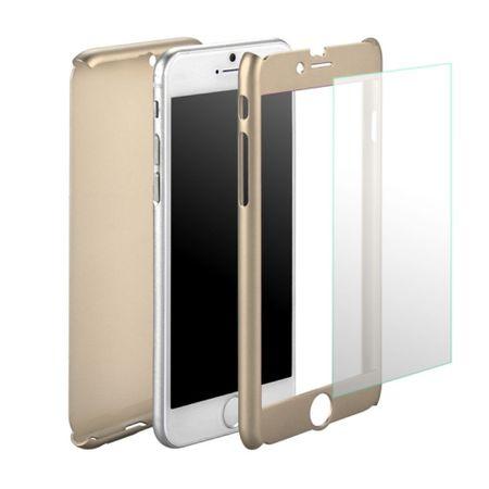 Samsung Galaxy J5 2017 US Version Handy-Hülle Case Panzer Schutz Glas Gold – Bild 3