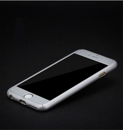 Samsung Galaxy J5 2017 US Version Handy-Hülle Case Panzer Schutz Glas Silber