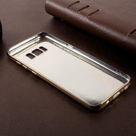 Handy Hülle für Samsung Galaxy S8 Schutz Case Tasche Bumper Kunstleder Pink – Bild 4