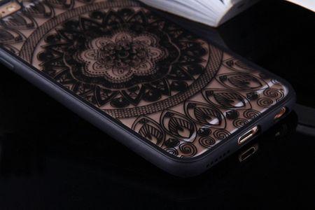 Handy Hülle Mandala für Huawei Nova 2 Design Case Schutzhülle Motiv Kreis Cover Tasche Bumper Schwarz – Bild 6