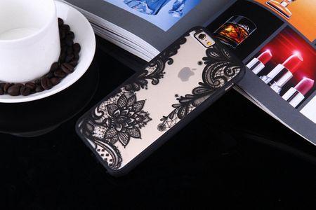 Handy Hülle Mandala für Huawei Nova 2 Plus Design Case Schutzhülle Motiv Blüte Cover Tasche Bumper Schwarz – Bild 3
