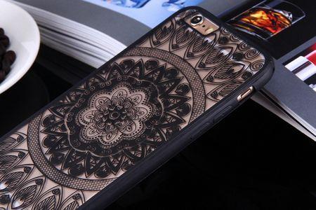Handy Hülle Mandala für Huawei Honor 6A Design Case Schutzhülle Motiv Kreis Cover Tasche Bumper Schwarz – Bild 4