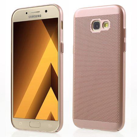 Handy Hülle für Samsung Galaxy A7 2017 Schutzhülle Case Tasche Cover Etui Pink