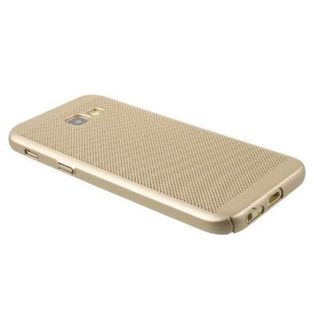 Handy Hülle für Samsung Galaxy J3 2017 Schutzhülle Case Tasche Cover Etui Gold – Bild 3