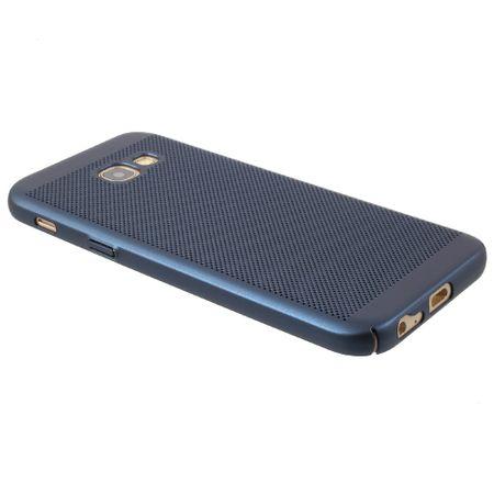 Handy Hülle für Samsung Galaxy J3 2017 Schutzhülle Case Tasche Cover Etui Blau – Bild 3