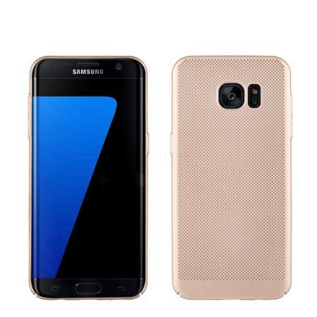 Handy Hülle für Samsung Galaxy S7 Edge Schutzhülle Case Tasche Cover Etui Gold – Bild 1
