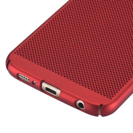 Handy Hülle für Samsung Galaxy S7 Edge Schutzhülle Case Tasche Cover Etui Rot – Bild 3