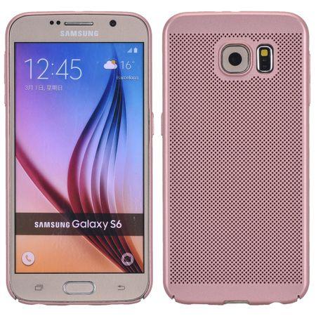 Handy Hülle für Samsung Galaxy S6 Schutzhülle Case Tasche Cover Etui Pink
