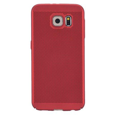 Handy Hülle für Samsung Galaxy S6 Edge Schutzhülle Case Tasche Cover Etui Rot – Bild 2